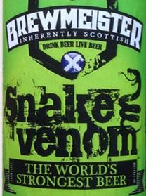 Stärkstes Bier der Welt: Snake Venom