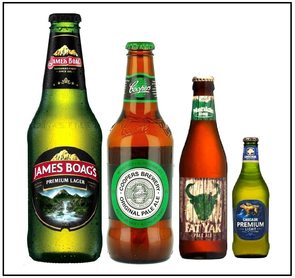 Australisches Bier.