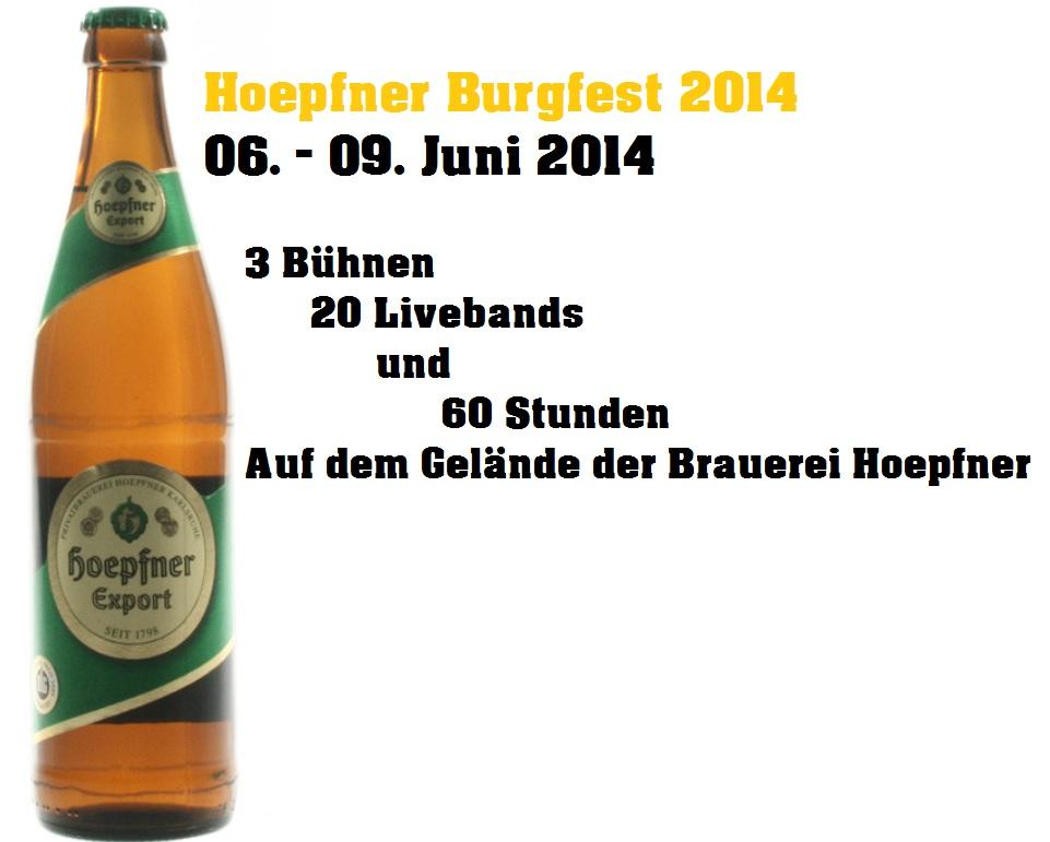 Hoepfner Burgfest 2014