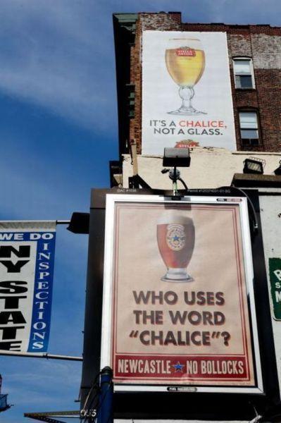 Bierwerbung in England