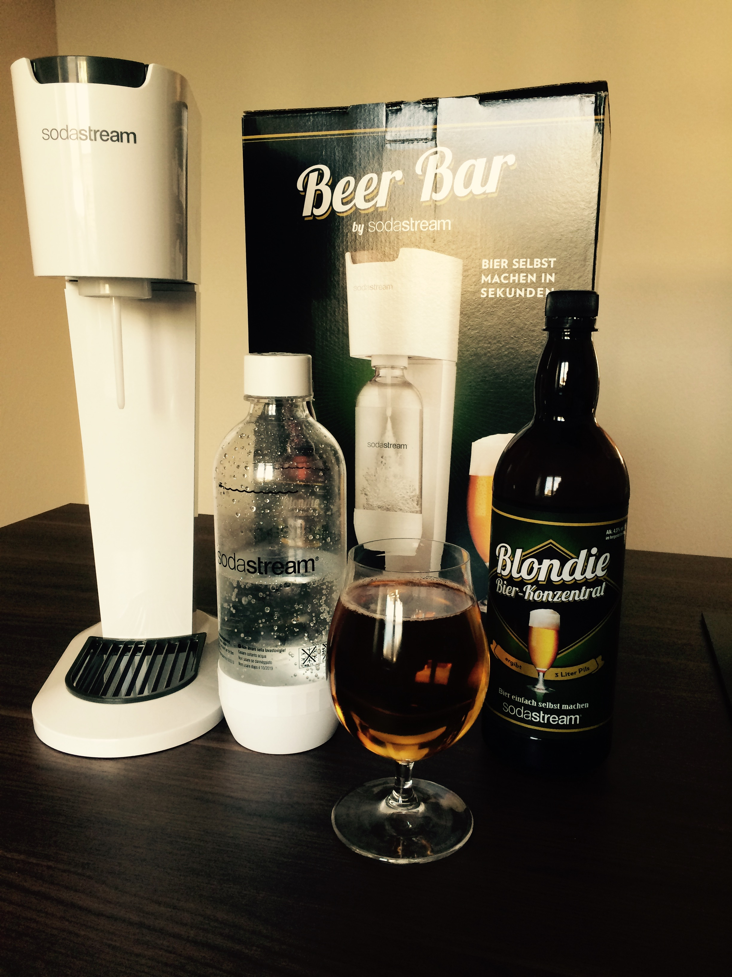 SodaStream Beer bar